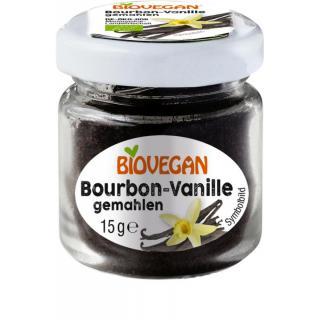 Bourbon Vanille im Glas gemahlen   15 g