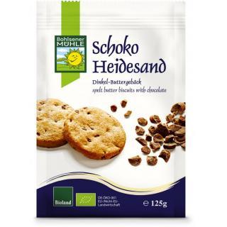 Dinkel Schoko Heidesand