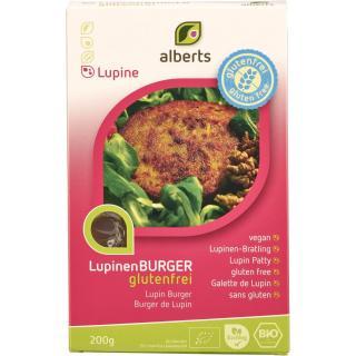 Lupinen Burger, vegan