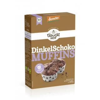 Dinkel Schoko Muffins demeter