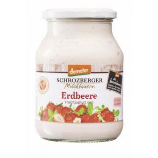 Joghurt Erdbeer, Glas
