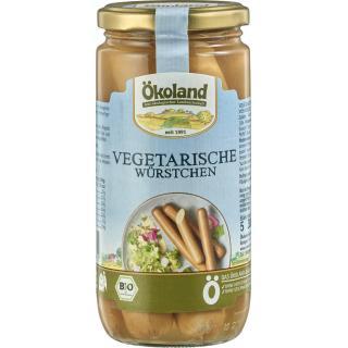 Vegetarische Würstchen - Glas
