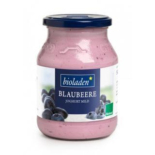 Joghurt Blaubeere, 500g Glas