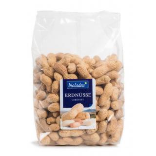 b*Erdnüsse i.d. Schale, ger.   ´8/10er