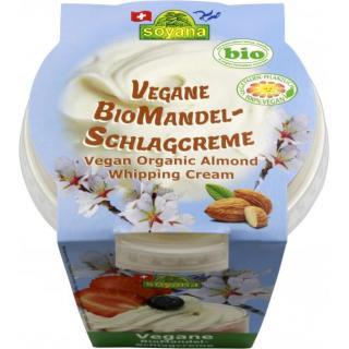 Mandel-Schlagcreme, vegan