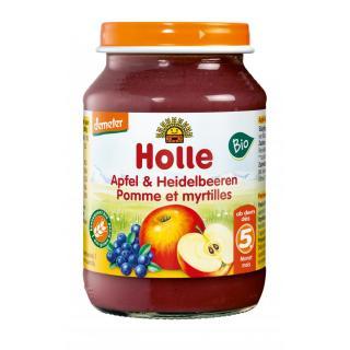 HL bio Apfl/Heidelbeer 190g
