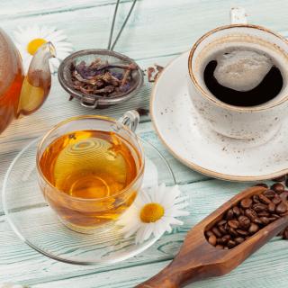 Kaffee, Tee und Kakao
